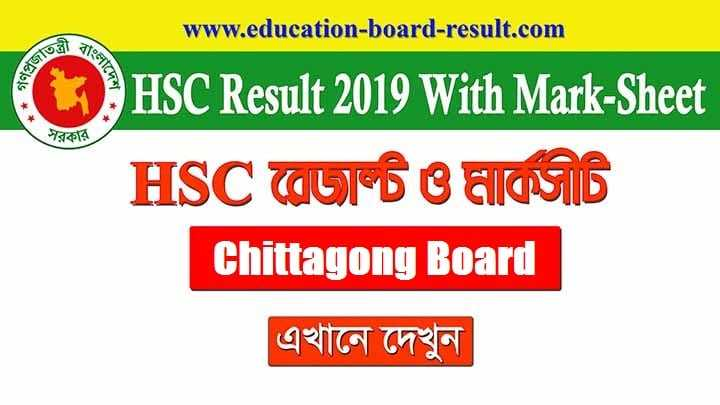 HSC Result 2019 - All Education Board Result with MarkSheet 1