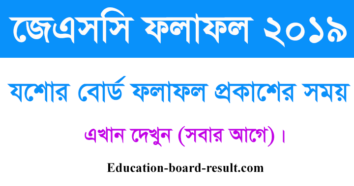 Jessore Board result publish date