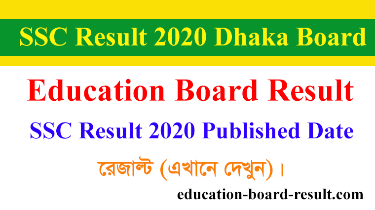 SSC Result 2020 Published Data