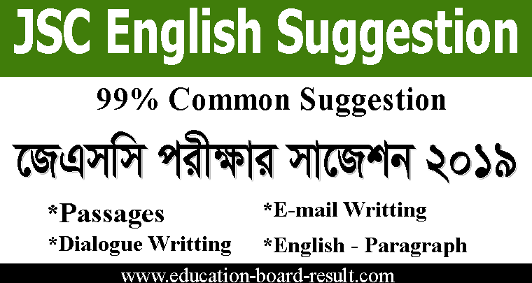 JSC English Suggestion 2019